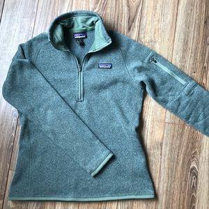 Women's Patagonia Half Zip Sweatshirt